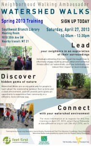 Web Flyer 2013 Watershed Walks