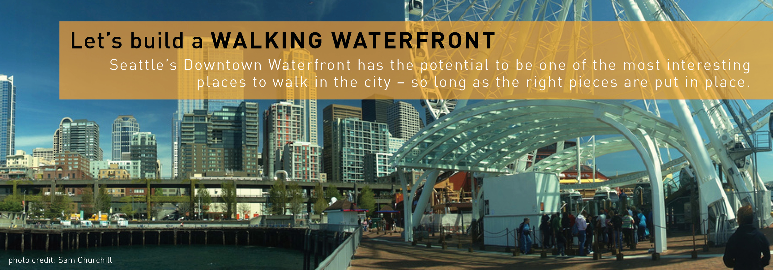Really This Is The Vision Of Seattle S Walkable
