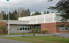 Olympic-Hills-Elementary 1952 building