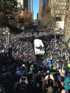 Seahawk Super Bowl Victory Parade