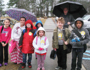 South Carolina Walk to School Day