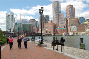 The urbanization of Cambridge is one of the reasons why the study sees Boston's walkability as on the rise.