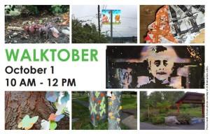 Walktober kicks off with Art Interruptions