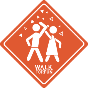 Walk for Fun PNG For Web