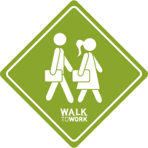 Walk to Work PNG for Web